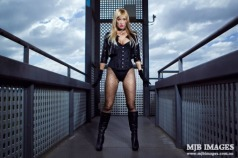 The Vixen Gamer Canário Negro cosplay (black canary)