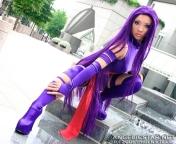 Yaya Han psylocke cosplay gostosa (1)