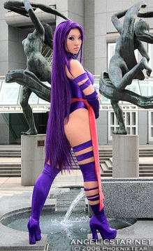 Yaya Han Cosplay Psylocke