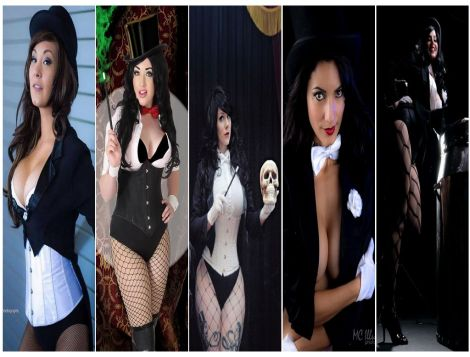 Zatanna Cosplay Wallpaper sexy