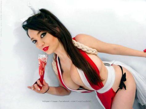 Bani (Brasil) Cosplay Mai shiranui