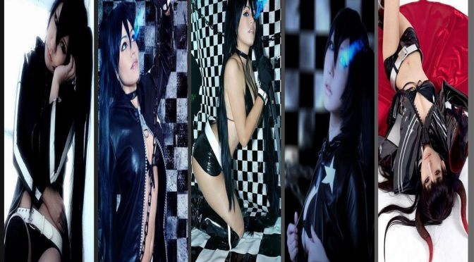 Black Rock Shooter Cosplay – Gata da Semana