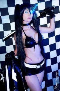 cosplay blackrock shooter sexy ecchi Adami Langley
