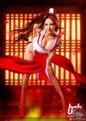 Jin Cosplay Mai Shiranui