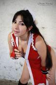 Mai Shiranui Cosplay sexy ecchi gostosa Danielle Vedovelli (6)