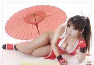Mai Shiranui cosplay sexy ecchi gostosas peitão bundão (2)