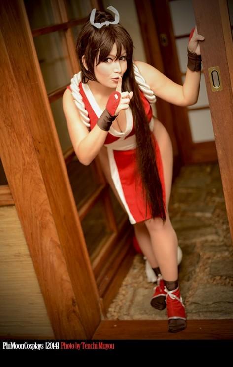 Plu-moon (Brasil) cosplay Mai Shiranui