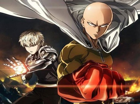 one punch man anime wall