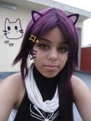 Yoruichi cosplay sexy ecchi gata Thaii Fenelon (3)