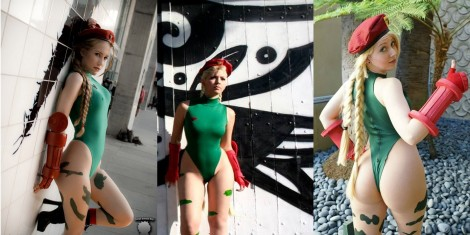 cammy cosplay wall