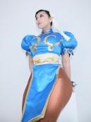 Elin-Kuzunoha Chun li Cosplay gata 11