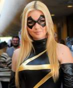 miss marvel cosplay sexy blonde Christina Faye (4)