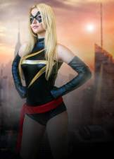 Miss Marvel Cosplay Christina Faye (USA)