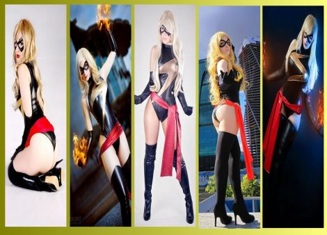 miss marvel cosplay wall 2