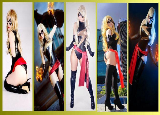 Miss Marvel Cosplay – Gata da Semana