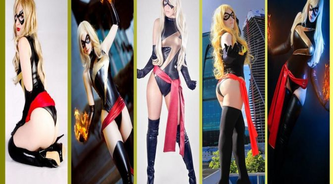 Miss Marvel Cosplay – Gata da Semana
