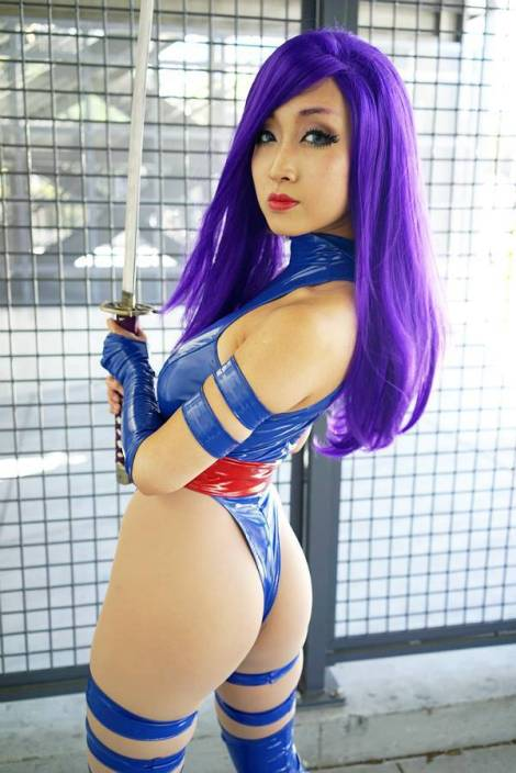 Psylocke Cosplay Sinne Doll (USA)