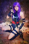 Psylocke cosplay sexy gostosa shermie (4)