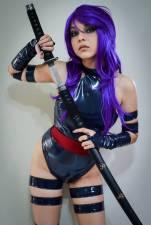 Psylocke cosplay sexy gostosa shermie (6)