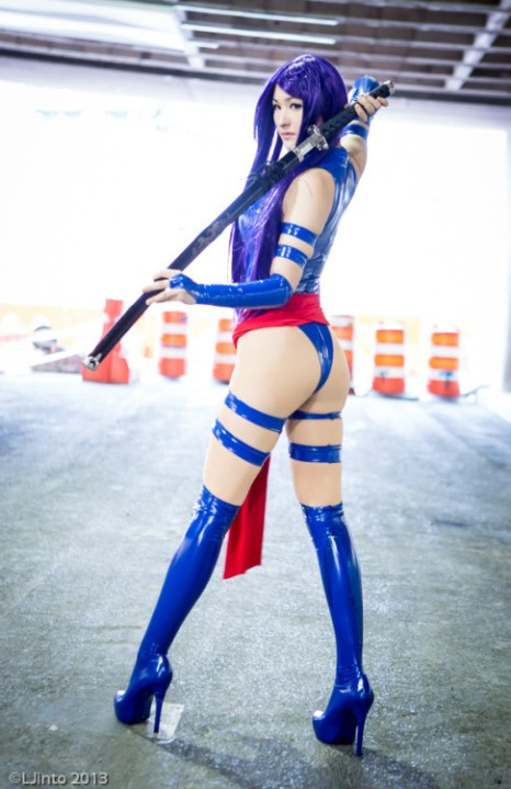 Psylocke Cosplay Mostflogged (USA)