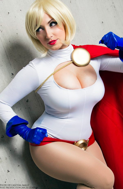 Are mistaken. big boob power girl cosplay where
