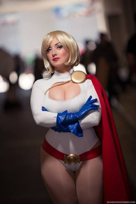 Cosplay power girl Jaycee
