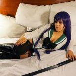 Cosplay Saeko hotd ecchi ero kannon kosplay sexy gostosa (4)