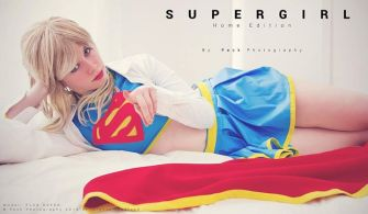 cosplay Supergirl sexy gata Florencia Sofen (4)
