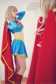 cosplay Supergirl sexy gata Florencia Sofen (5)