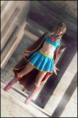cosplay Supergirl sexy gata Florencia Sofen (6)