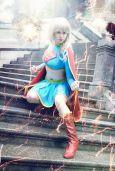 cosplay Supergirl sexy gata Florencia Sofen (7)