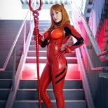Crystal Graziano Asuka de Evangelion