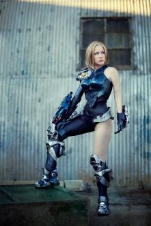 Firefall - Mourningstar cosplay gostosa crystal graziano 2
