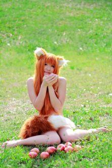 holo cosplay firecloak sexy nude seminua gostosa 2