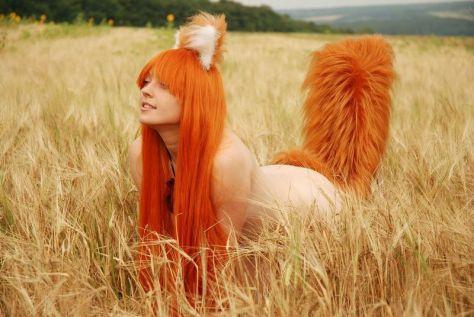 MilenaHime cosplay da Holo (Ucrânia)