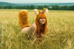 holo cosplay MilenaHime nude sexy gostosa nua 5