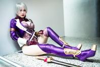 Ivy - Soul Calibur gostosa cosplay sexy Crystal Graziano 2