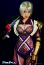 Ivy - Soul Calibur gostosa cosplay sexy Crystal Graziano