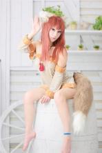 KOYUKI cosplay horo sexy gata 7