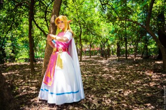 Layze Michelle Princess Zelda cosplay from A Link Between Worlds cosplay (2)