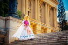 Layze Michelle Princess Zelda cosplay from A Link Between Worlds cosplay
