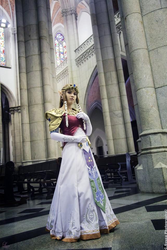 Layze Michelle (Brasil) cosplay Princess Zelda Twilight Princess