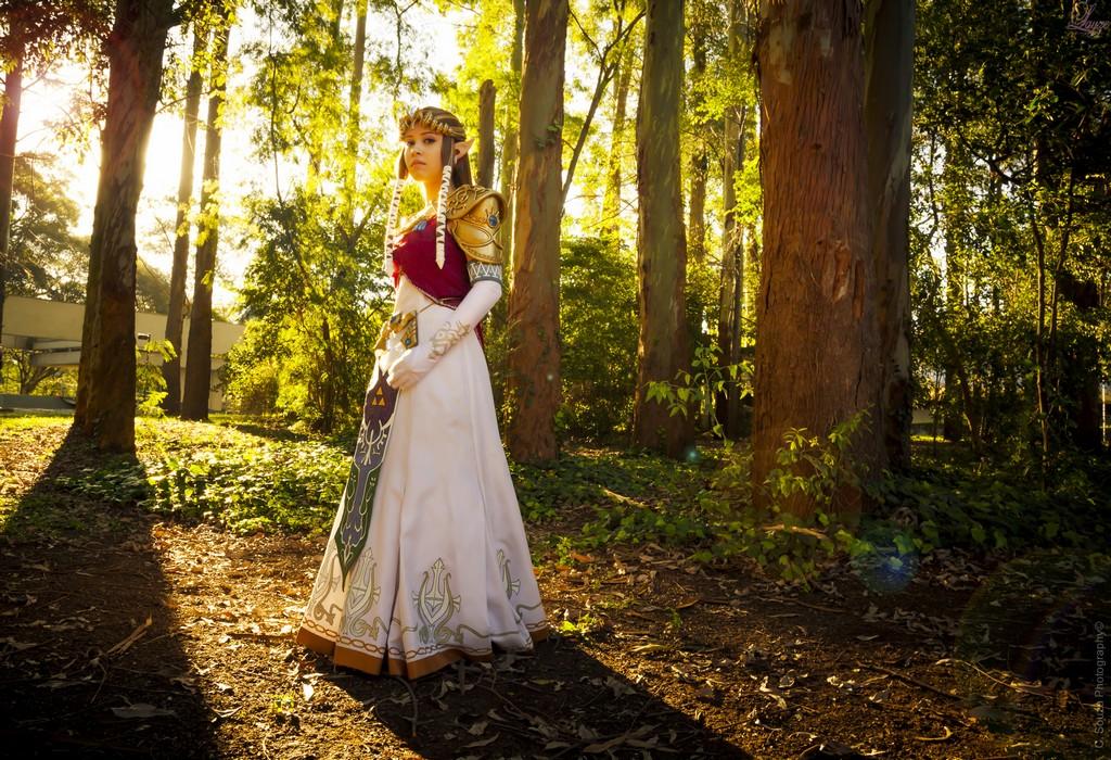 Layze Michelle Princess Zelda Twilight Princess cosplay