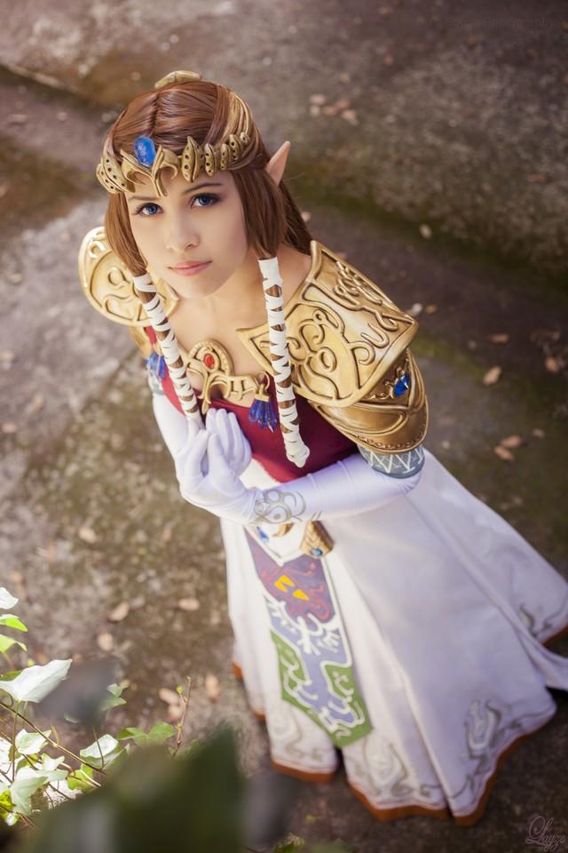 Layze Michelle (Brasil) cosplay Princess Zelda Twilight