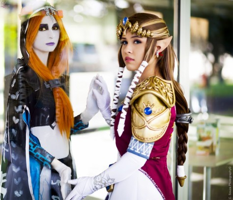 Layze Michelle (Brasil) Princess Zelda Twilight Princess cosplay Midna Vera Lucia