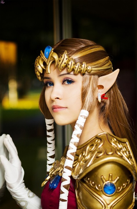 Layze Michelle (Brasil) Princess Zelda Twilight Princess cosplay