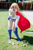 Power Girl cosplay Ardella (Australia)