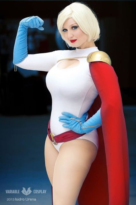 Power Girl cosplay Variable (Australia)