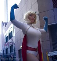 Power Girl cosplay sexy big tits Variable (4)