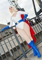 Power Girl cosplay sexy GraceyDarling (1)